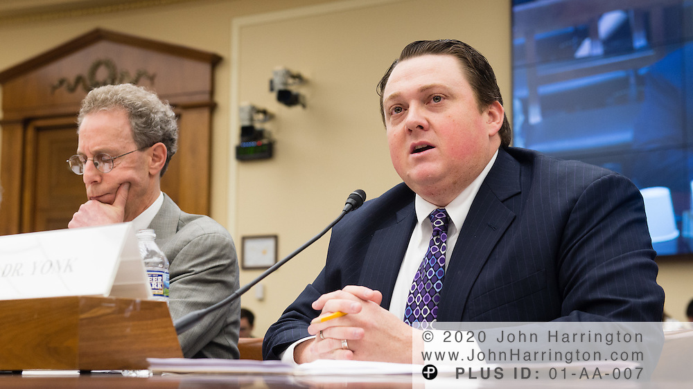 Ryan Yonk testifies before the Joint Energy Subcommittee and Oversight Subcommittee Hearing- Risky Business: The DOE Loan Guarantee Program.