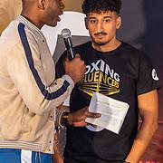 NLD/Rotterdam/20200224 - Stare down Boxing Influencers 2020, Nesim el Ahmadi