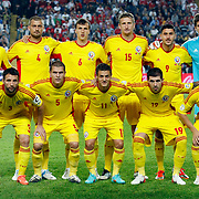 Romania's group team during their FIFA World Cup 2014 qualifying soccer match Turkey betwen Romania at Sukru Saracoglu stadium in Istanbul october 12, 2012. Photo by TURKPIX