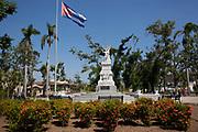 Statue in a park, Santiago de Cuba