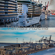 Terminal de Cruceros Puerto de Barcelona.