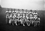 Hurling Senior Tournament at Croke Park, .St Vincents (Dublin) v Glenrovers (Cork), .06.12.1953, 12.06.1953, 6th December 1953,