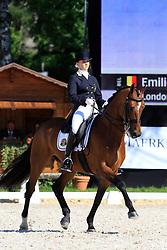 Van Riet Emilie (BEL) - London van de Roshoeve<br /> FEI European Championship Juniors - Bern 2012<br /> © Hippo Foto - Leanjo de Koster