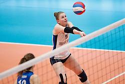 20180218 NED: Bekerfinale Eurosped - Sliedrecht Sport, Hoogeveen <br />Florien Reesink (5) of Sliedrecht Sport <br />©2018-FotoHoogendoorn.nl
