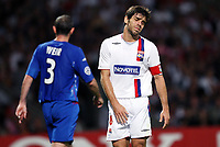 Fotball<br /> Frankrike<br /> Foto: Dppi/Digitalsport<br /> NORWAY ONLY<br /> <br /> FOOTBALL - CHAMPIONS LEAGUE 2007/2008 - GROUP STAGE - MATCHDAY 1 - GROUP E - OLYMPIQUE LYON v RANGERS GLASGOW - 02/10/2007 - DISAPPOINTMENT JUNINHO (LYON)