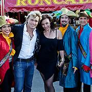 NLD/Amsterdam/20100616 - Illusionist Hans Klok bezoekt circus Roncalli in Amsterdam