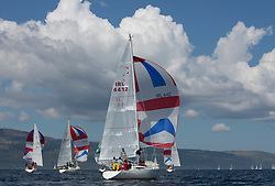 Final days' racing at the Silvers Marine Scottish Series 2016, the largest sailing event in Scotland organised by the  Clyde Cruising Club<br /> <br /> Racing on Loch Fyne from 27th-30th May 2016<br /> <br /> IRL4412, Miss Behavin, A Lennox / G Simpson, HSC, Sigma 33<br /> <br /> Credit : Marc Turner / CCC<br /> For further information contact<br /> Iain Hurrel<br /> Mobile : 07766 116451<br /> Email : info@marine.blast.com<br /> <br /> For a full list of Silvers Marine Scottish Series sponsors visit http://www.clyde.org/scottish-series/sponsors/
