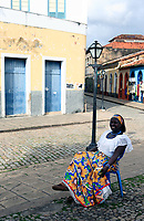 women on the chair in Sao Luis Of Maranhao in brazil