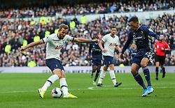 Harry Kane of Tottenham Hotspur shoots - Mandatory by-line: Arron Gent/JMP - 19/10/2019 - FOOTBALL - Tottenham Hotspur Stadium - London, England - Tottenham Hotspur v Watford - Premier League