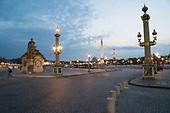 Dusk Evening lockdown Coronavirus Paris