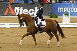 Michele George (BEL) - FBW Rainman<br /> Silver medal Para Equestrian Grade IV<br /> Alltech FEI World Equestrian Games <br /> Lexington - Kentucky 2010<br /> © Dirk Caremans