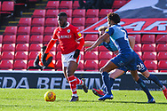 Mamadou Thiam of Barnsley (26) in action during the EFL Sky Bet League 1 match between Barnsley and Wycombe Wanderers at Oakwell, Barnsley, England on 16 February 2019.