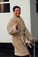 ON SET OF MOVIE SHANGHAI JOHN CUSACK  ALSO STARING LI GONG AND CROUCHING TIGER STAR CHOW YUN-FAT