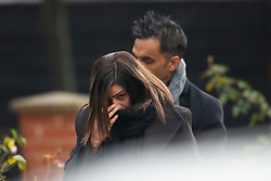 Ex-DHL workers Donald Marklew, 40, his wife Amandip Marklew, 31, arrive at Isleworth Crown Court after pleading guilty to stealing nearly 10,000 worth of perfume and jewellery from British Airways. Isleworth, London, November 21st 2018