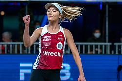 Megan McNamara CAN in action during the third day of the beach volleyball event King of the Court at Jaarbeursplein on September 11, 2020 in Utrecht.