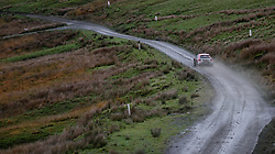 Simone Tempestini  on the Sweet Lamb stage during day three of the DayInsure Wales Rally GB. PRESS ASSOCIATION Photo. Picture date: Saturday October 6, 2018. See PA story AUTO Rally. Photo credit should read: David Davies/PA Wire. RESTRICTIONS: Editorial use only. Commercial use with prior consent from teams.