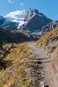Wanderweg zwischen Hotel Obersteinberg und Oberhornsee in das hinterer Lauterbrunnental