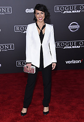 Celebrities arrive at the 'Rogue One: A Star Wars Story' movie premiere in Hollywood, California. 10 Dec 2016 Pictured: Constance Zimmer. Photo credit: American Foto Features / MEGA TheMegaAgency.com +1 888 505 6342