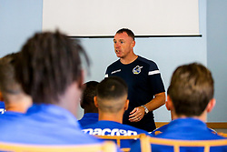 Bristol Rovers manager Graham Coughlan during the first day of preseason training ahead of the 2019/20 Sky Bet League One Season - Mandatory by-line: Robbie Stephenson/JMP - 27/06/2019 - FOOTBALL - The Lawns - Bristol, England - Bristol Rovers Return for Preseason Training