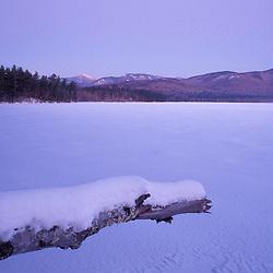 The view across Chocorua Lake in New Hampshire's White Mountains.  Chocurua, NH