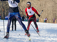 St Paul's School Nordic Races at Proctor Academy.  ©2020 Karen Bobotas Photographer