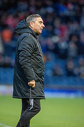 Peterhead manager Jim McInally. Raith Rovers 2 v 1 Peterhead, Scottish Football League Division One played 4/1/2020 at Stark's Park, Kirkcaldy.