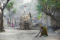 Inde, Bengale-Occidental, villages dans la region de Murshidabad // India, West Bengal, village around Murshidabad