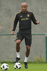September 5, 2018 - Tubize, BELGIUM - Belgium's Vincent Kompany pictured during a training session of Belgian national soccer team the Red Devils in Tubize, Wednesday 05 September 2018. The team is preparing for a friendly match against Scotland on 07 September and the UEFA Nations League match against Iceland on 11 September. BELGA PHOTO BRUNO FAHY (Credit Image: © Bruno Fahy/Belga via ZUMA Press)