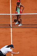 Roland Garros. Paris, France. May 28th 2012.Romanian player Sorana CIRSTEA against Na LI...
