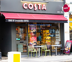 A Costa Coffee outlet at Kensal Rise in North West London. Kensal Rise, London., October 02 2018.