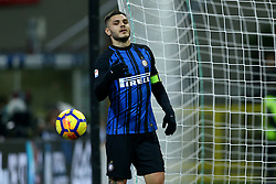 January 21, 2018 - Milan, Italy - Mauro Icardi of Internazionale  during the Serie A match between FC Internazionale and AS Roma at Stadio Giuseppe Meazza on January 21, 2018 in Milan, Italy. (Credit Image: © Matteo Ciambelli/NurPhoto via ZUMA Press)