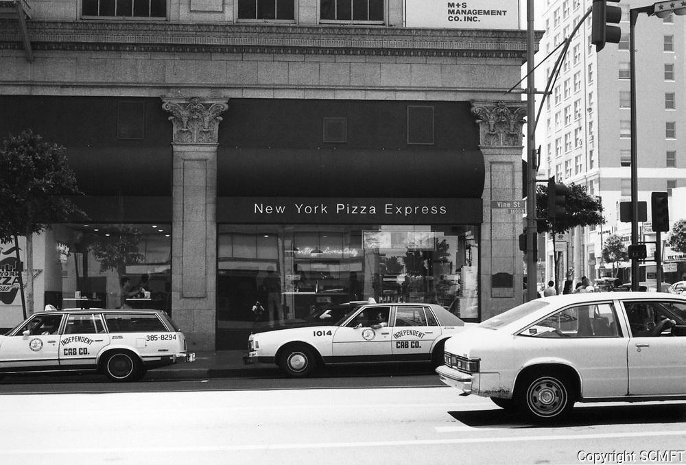 1987 New York Pizza at Hollywood Blvd. & Vine St.