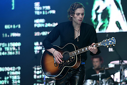 5 Seconds of Summer on stage during Capital's Summertime Ball. The world's biggest stars perform live for 80,000 Capital listeners at Wembley Stadium at the UK's biggest summer party. Picture Credit Should Read: Doug Peters/EMPICS