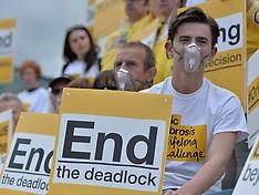 Cystic Fibrosis Protest | Edinburgh | 26 June 2017