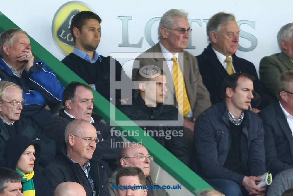 Picture by Paul Chesterton/Focus Images Ltd.  07904 640267.26/02/12.Ryan Bennett in the stand during the Barclays Premier League match at Carrow Road Stadium, Norwich.