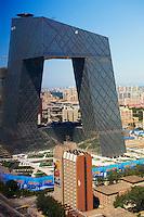 Chine, Pekin, la tour CCTV // China, Beijing, CCTV Tower