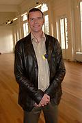 Presentatie Kuifje - De Zonnetempel - De Musical in het Wereldmuseum in Rotterdam.<br /> <br /> Op de foto:<br /> <br />  Walter Baele  ( Janssen )