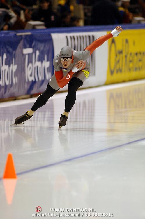 NLD/Heerenveen/20060122 - WK Sprint 2006, 2de 1000 meter heren, Jeremy Wotherspoon