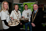 Galway launches 200 Gatherings ! Come home to Irelands Cultural Heart  with help of  Suzanne Meade Galway International Oyster and Seafood Festival Galway City Mayor Terry O Flaherty Michael Kelly Kelly Oysters Galway County Mayor Tom Welby   at Aras An Contae. Picture Andrew Downes.