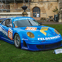 #88, Porsche  997 GT3 RSR (2009) at Rennsport Collective at Stowe House, Buckinghamshire, UK, on 1 November 2020