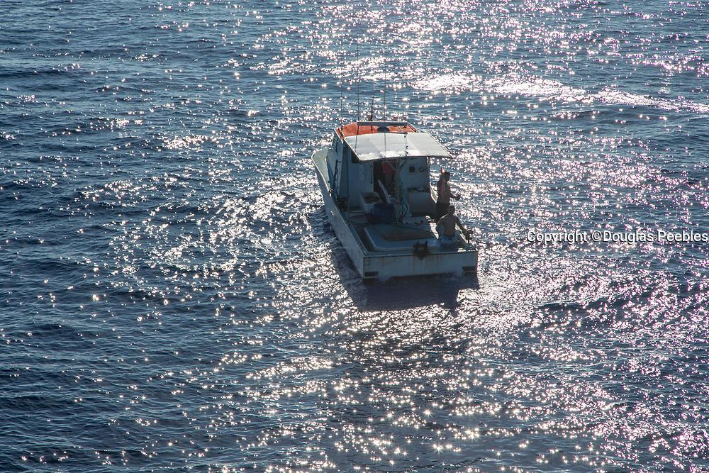 Fishing boat, Molokai, Hawaii