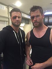 Chris Hemsworth's stunt double - 3 Nov 2017
