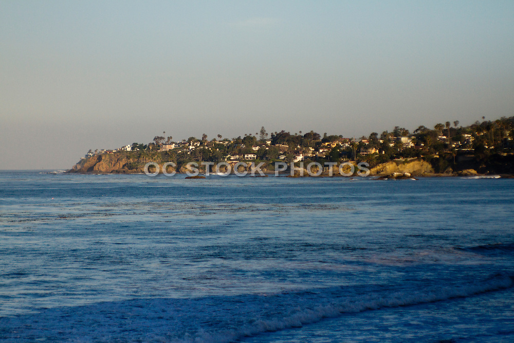 The Coast of Dana Point at Salt Creek