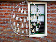 Fish drying on frame, Zuiderzee museum, Enkhuizen, Netherlands