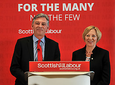 Richard Leonard Scottish Labour unveils new Deputy Leader, Glasgow, 4 June 2018