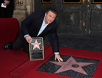 2/14/2011 Alex Baldwin at his Hollywood Walk of Fame ceremony