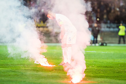 Bostjan Cesar (SLO) during the UEFA EURO 2016 Play-off for Final Tournament, Second leg between Slovenia and Ukraine, on November 17, 2015 in Stadium Ljudski vrt, Maribor, Slovenia. Photo by Ziga Zupan / Sportida