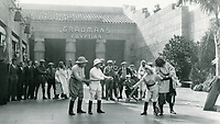 1927 Movie making at Grauman's Egyptian Theater