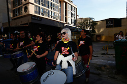 October 14, 2017 - Thessaloniki, Central Macedonia, Greece - Silence protest called Walk for Freedom (Credit Image: © Achilleas Chiras/Pacific Press via ZUMA Wire)