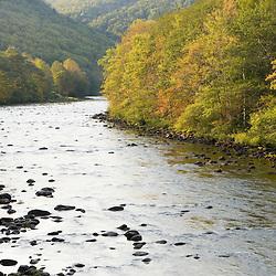 The Deerfield River in Rowe, Massachusetts.